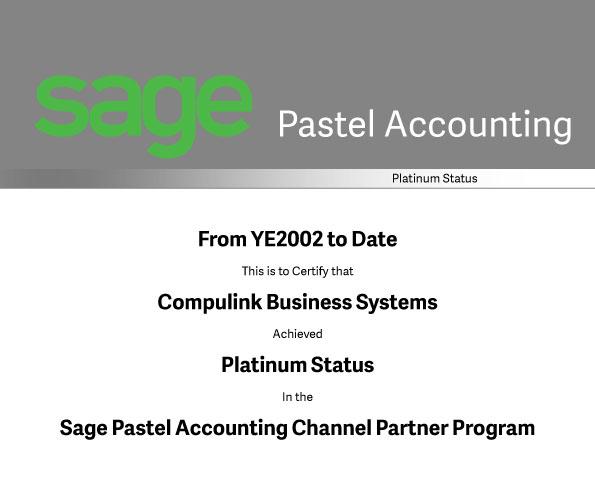 Pastel Platinum Business Partner